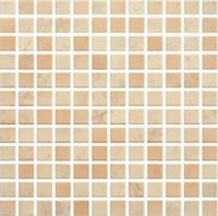 Мозаика PARADYZ PENELOPA BEIGE/BROWN PRASOWANA K.2,3X2,3  29,8X29,8 G1