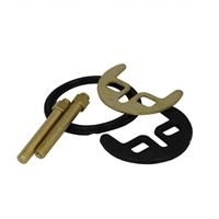 Набор МАСТЕРПРОФ монтажный для смесителя (2 шпильки) ИС.130074