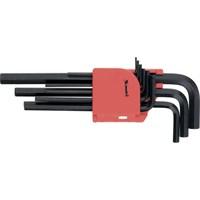 Набор MATRIX ключей имбусовых 1,5*10мм, CrV, 9шт, удлиненные 11231