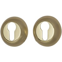 Накладка DUET цилиндровая DP-05 G/GM матовое золото