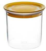 Банка для сыпучих продуктов 0,6л, круглая с вакуумной крышкой арт.29701