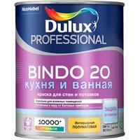 Краска водоэмульсионная Dulux BINDO 20 проф. полумат. BW 1л 5309511