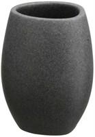 Стакан АКВАЛИНИЯ черный камень BPO-0284C