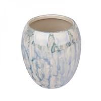 Стакан д/зубных щеток АКВАЛИНИЯ Оникс синий керамика CE1034/CE1033