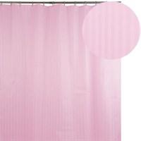 Штора для ванной АКВАЛИНИЯ 023А-04 розовая