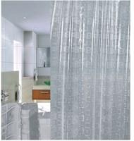 Штора для ванной PRIMANOVA 3D Sguares 180*200см (3D ПВХ) DR-50037