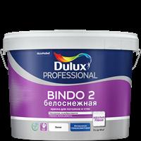 Краска водоэмульсионная Dulux Bindo 2 проф.белосн. глубокомат. 9л 5302494