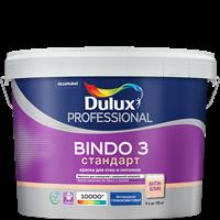 Краска водоэмульсионная Dulux BINDO 3 проф. глубокомат. BW 9л 5302489
