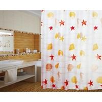 Штора для ванной PRIMANOVA Maldiv 80*200см (ткань полиэстер) D-14973
