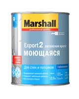 Краска водоэмульсионная MARSHALL EXPORT-2 матовая BW 0,9л
