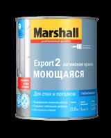 Краска водоэмульсионная MARSHALL EXPORT-2 мат латексная 0,9л 5248842