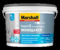 Краска водоэмульсионная MARSHALL EXPORT-2 гл.мат латексная BW 9л 5248841