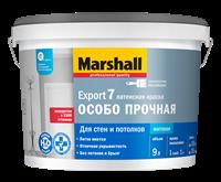Краска водоэмульсионная MARSHALL EXPORT-7 мат.латексная BW 9л