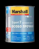 Краска водоэмульсионная MARSHALL EXPORT-7 мат.латексная BW 0,9л