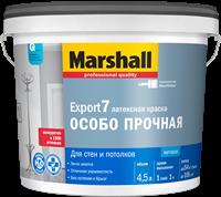 Краска водоэмульсионная MARSHALL EXPORT-7 мат.латексная BW 4,5л