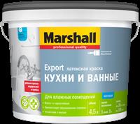 Краска водоэмульсионная MARSHALL д/кух.и ван.латексная 4,5л 5248868