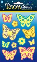 Элемент декоративный ROOM DECOR Светящиеся бабочки-мини REA 9703