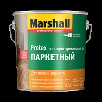 Лак паркетный MARSHALL Protex п/матовый 2,5л