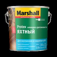 Лак MARSHALL PROTEX Яхтный глянцевый 2,5л