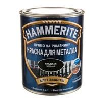 Краска Hammerite гладкая Черная 2,2л 5272667