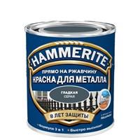 Краска HAMMER глад Серый 2,5л 5163753