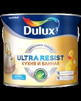 Краска Dulux Ultra Resist Кухня и ванная мат 2,5л 5255548