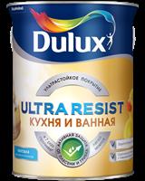 Краска Dulux Ultra Resist Кухня и ванная мат 5л 5255539