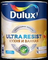 Краска Dulux Ultra Resist Кухня и ванная мат база C 0,9л 5255540