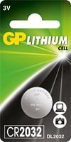 Батарейки GP Lithium CR2032-1шт