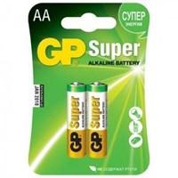 Батарейки GP SUPER пальчиковые (АА) 2шт (блистер)