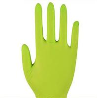 Перчатки хоз.L (раз10) полиэстр светло-зелен.,с защитным покрытием ладони 290619/L