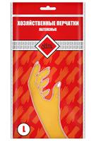 Перчатки HOMEQUEEN латексные  размер  L 53729