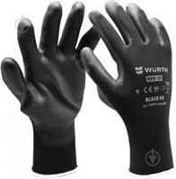 Перчатки WURTH черные P9 0899402409