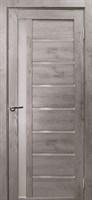 Полотно ДУБРАВА Вертикаль дуб дымчатый ст.черн. 600мм экошпон