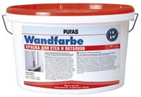 Краска PUFAS Wandfarbe для стен и потолков 1х2,5 л