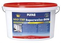 Краска PUFAS GOLD STAR супербелая морозостойкая 1х10л