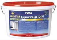 Краска PUFAS GOLD STAR супербелая морозостойкая 1х5 л