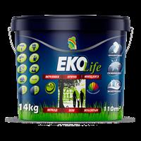 Краска РАДУГА ЕКО Life акриловая для стен и потолков гипоаллергенная 3л-3,5 кг