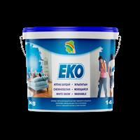 Краска РАДУГА ЕКО акриловая для стен и потолков (20л-24кг)