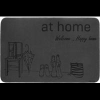Коврик Счастливый дом придверный 50*80см