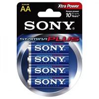 Батарейка SONY LR6/4 Alkaline Stamina Plus AA 4шт AM3B4D