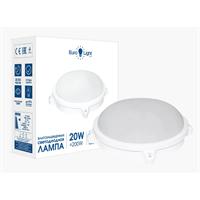 Светильник EUROLIGHT пылевлагозащищенный+датчик движения S-416-LED-OLL-20-6K