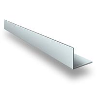 Угол 20*20 3,0 анодированый серебро матовый