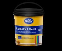 Эмаль для металла и радиаторов отопления Alantex 1кг