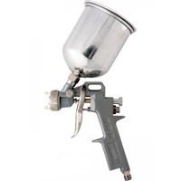 Краскораспылитель MATRIX пневмат.с верхним бачком V=1,0 л + сопла диаметром 1.2, 1.5 и 1.8 мм 57315