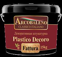 Штукатурка декоративная Arcobaleno Plastico Decoro 7кг