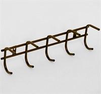 Вешалка для одежды 5 крючков (антик медь)