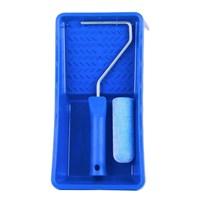 Набор MAKO ванночка 15х30см с валиком пена полиэстер флокированный 10см 740310