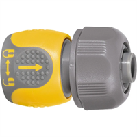 Соединитель PALISAD LUXE для шланга 3/4 двухкомпонентный 66241