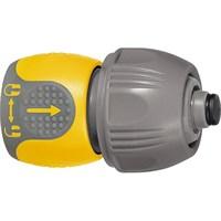 Соединитель PALISAD LUXE для шланга универсальный, аквастоп, двухкомпонентный 66246